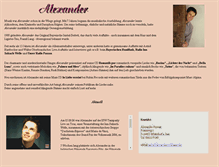 Tablet Preview of alexander-schlager.de